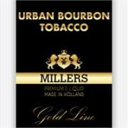 MILLERS JUICE10ML GOLDLINE URBAN BOURBON TOBACCO PG/VG(18MG)