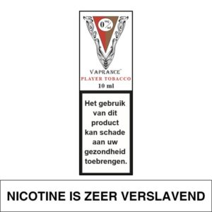 VAPRANCE WHITE LABEL PLAYER TOBACCO 10ML (0MG)