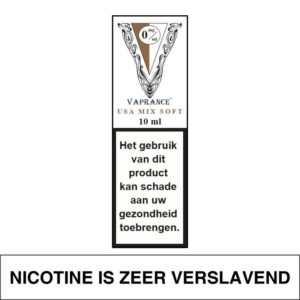 VAPRANCE WHITE LABEL USA MIX SOFT 10ML (0MG)