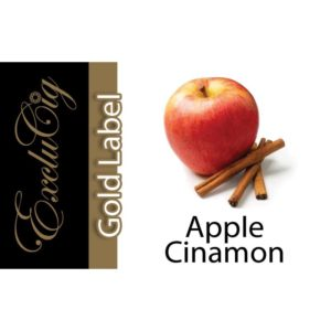 EXCLUCIG GOLD LABEL E-LIQUID APPLE CINNAMON 10ML (18MG)