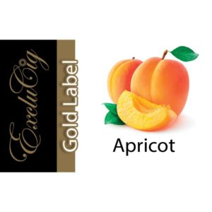 EXCLUCIG GOLD LABEL E-LIQUID APRICOT 10ML (18MG)