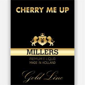 MILLERS JUICE 10ML GOLDLINE CHERRY ME UP PG/VG (18MG)