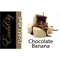 EXCLUCIG GOLD LABEL E-LIQUID CHOCOLATE BANANA 10ML (18MG)
