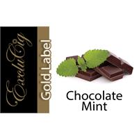 EXCLUCIG GOLD LABEL E-LIQUID CHOCOLATE MINT 10ML (18MG)
