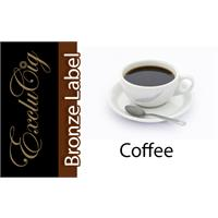 EXCLUCIG BRONZE LABEL E-LIQUID COFFEE 10ML (18MG)