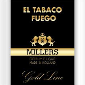 MILLERS JUICE 10ML GOLDLINE EL TABACO FUEGO PG/VG (18MG)