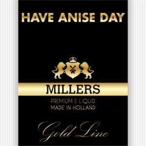 MILLERS JUICE 10ML GOLDLINE HAVE ANISE DAY PG/VG (18MG)