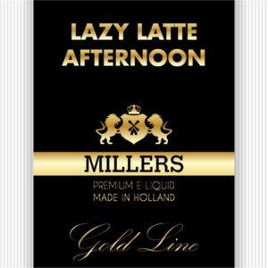 MILLERS JUICE 10ML GOLDLINE LAZY LATTE AFTERNOON PG/VG(18MG)