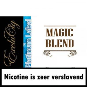 EXCLUCIG PLATINUM LABEL E-LIQUID MAGIC BLEND 10ML (0MG)