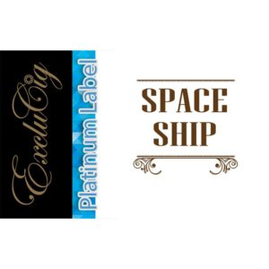 EXCLUCIG PLATINUM LABEL E-LIQUID SPACE SHIP 10ML (0MG)