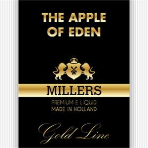 MILLERS JUICE 10ML GOLDLINE APPLE OF EDEN PG/VG (18MG)