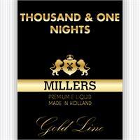 MILLERS JUICE 10ML GOLDLINE PG1 NIGHTS PG/VG (18MG)