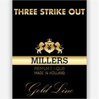 MILLERS JUICE 10ML GOLDLINE THREE STRIKES OUT PG/VG (18MG)