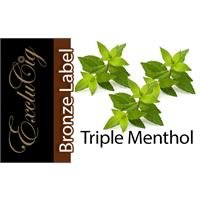 EXCLUCIG BRONZE LABEL E-LIQUID TRIPLE MENTHOL 10ML (18MG)