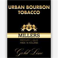 MILLERS JUICE10ML GOLDLINE URBAN BOURBON TOBACCO PG/VG(18MG)