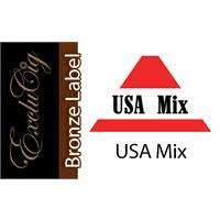 EXCLUCIG BRONZE LABEL E-LIQUID USA MIX 10ML (18MG)
