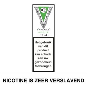 VAPRANCE WHITE LABEL APPLE 10ML (0MG)