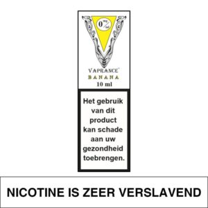 VAPRANCE WHITE LABEL BANANA 10ML (0MG)