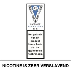 VAPRANCE WHITE LABEL BLUEBERRY 10ML (0MG)