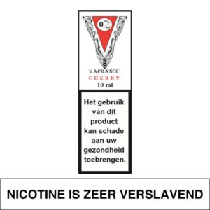 VAPRANCE WHITE LABEL CHERRY 10ML (0MG)