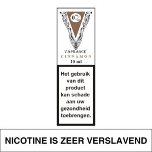 VAPRANCE WHITE LABEL CINNAMON 10ML (0MG)