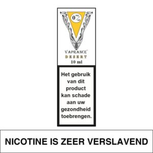 VAPRANCE WHITE LABEL DESERT 10ML (0MG)