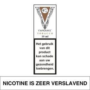 VAPRANCE WHITE LABEL TOBACCO 10ML (0MG)