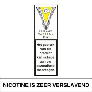 VAPRANCE WHITE LABEL VANILLA 10ML (0MG)