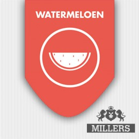 Millers Watermeloen (0MG)